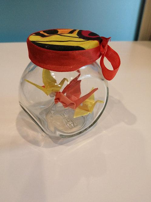 Petit Bocal Origami, 2 gouttes d'eau à M'Bour
