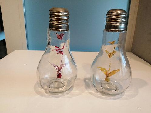 Ampoule Origami, 2 gouttes d'eau à M'Bour