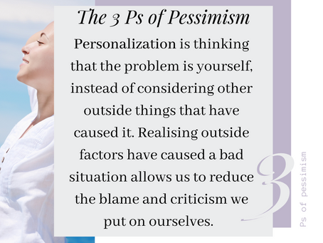 The Three Ps of Pessimism