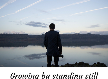 Growing by standing still