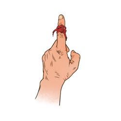 Knot finger color