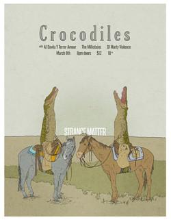 Crocodiles flier 2