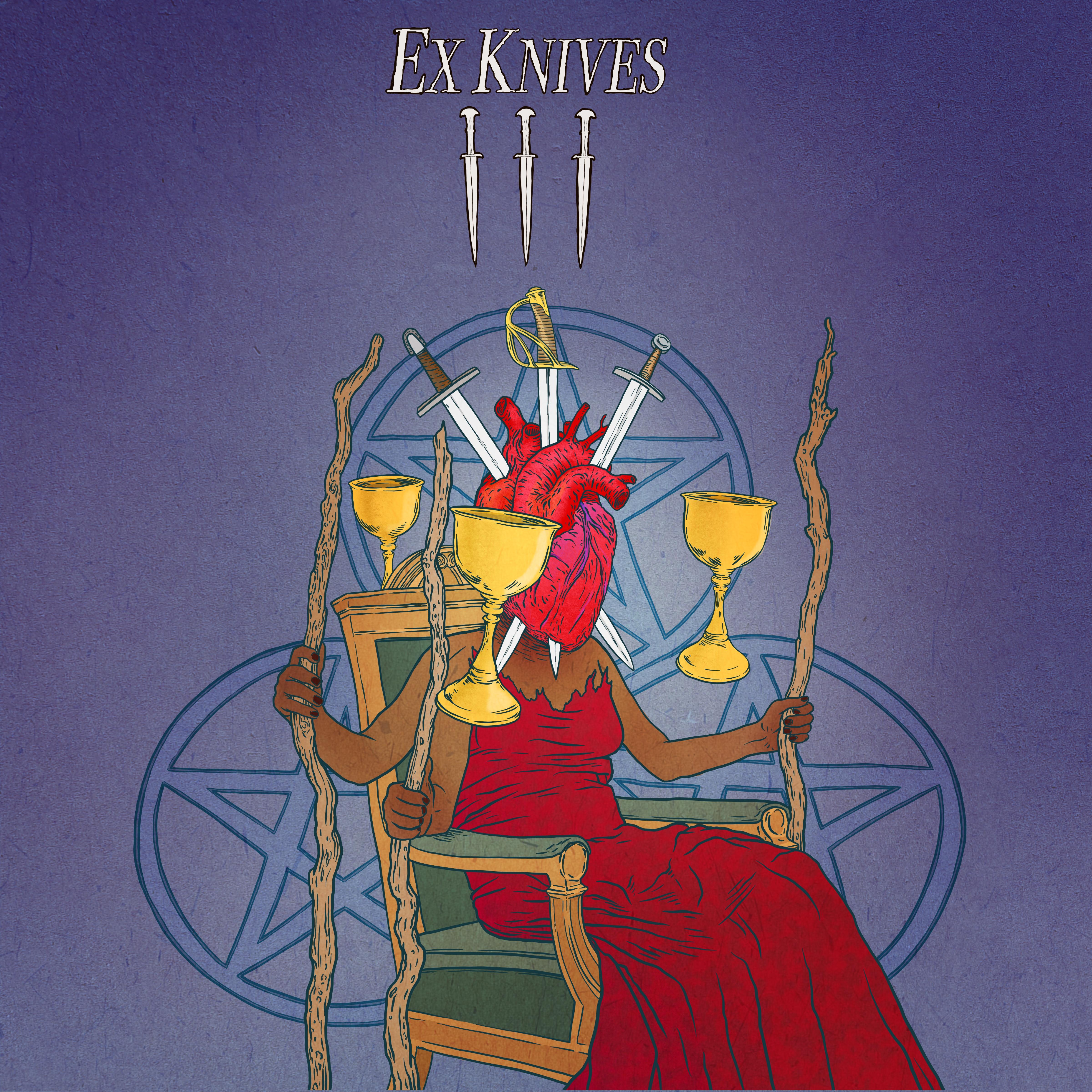 Ex Knives 3 curses cover