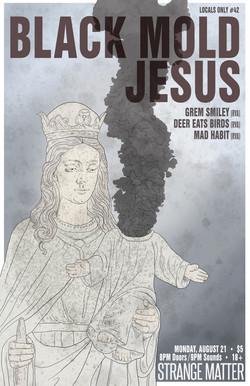 Black mold jesus