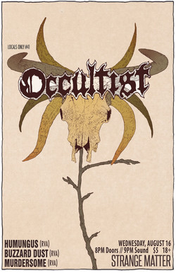 Occultist flyer LO41