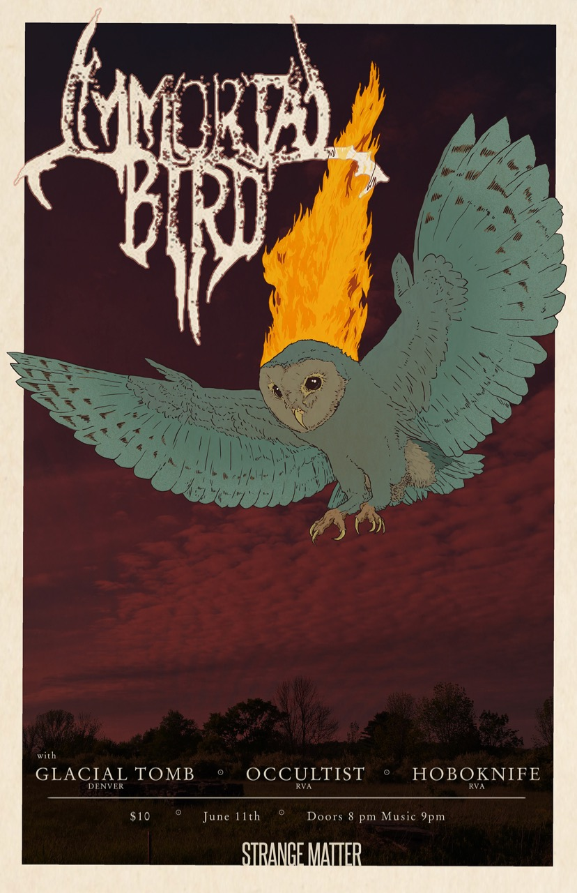 Immortal Bird flier 1b