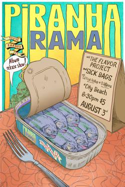 Piranha_Rama_Release_Show_Poster 1