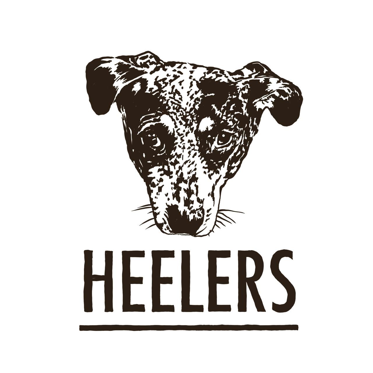 Heelers logo black