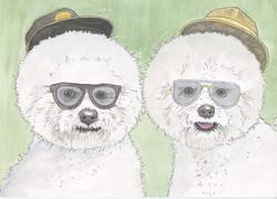 Chris and Jeff Doggies