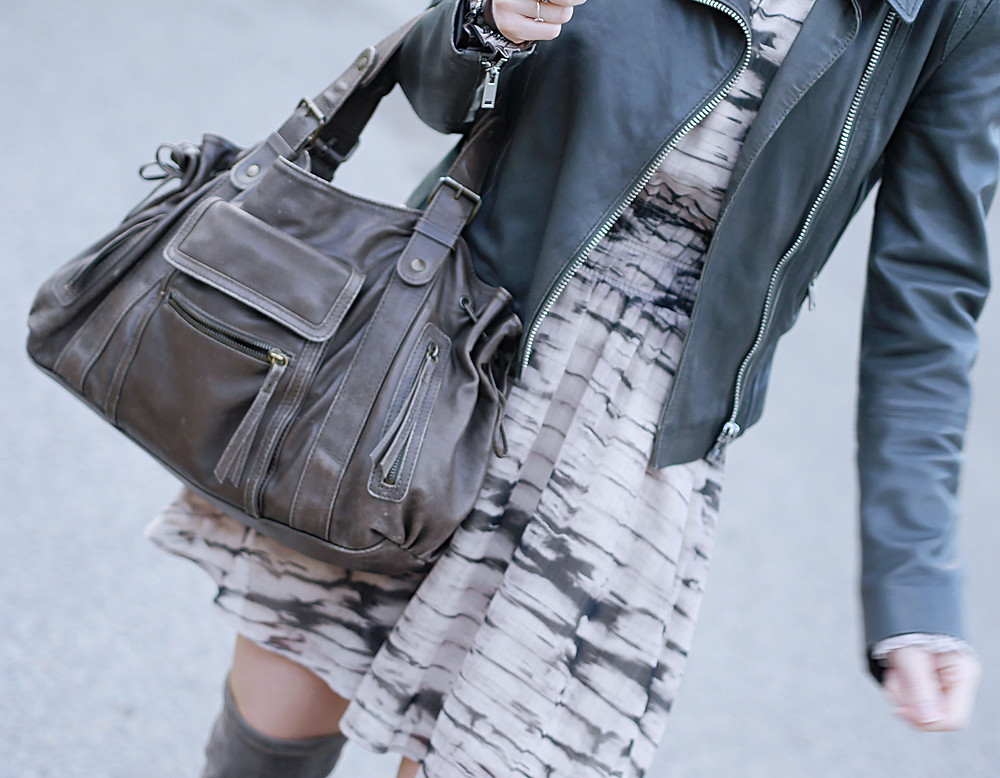 Look - Robe H&M tie and dye - Le Blog des Filles In
