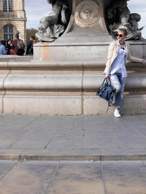 Look #2 - City Trip à Bordeaux & résille -