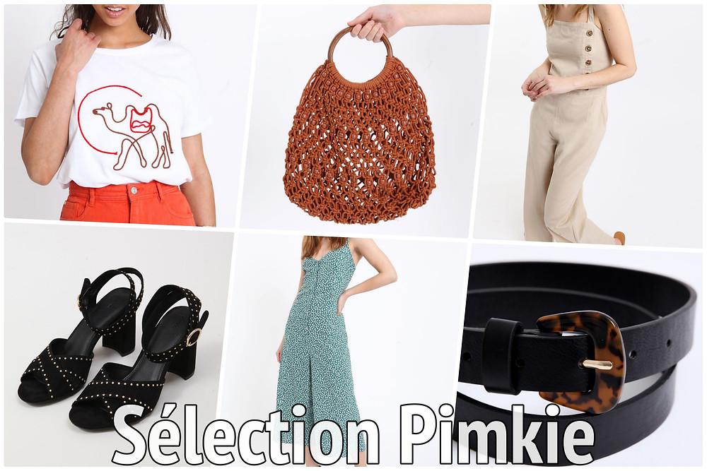 sélection en promos chez Pimkie - Le Blog des Filles In