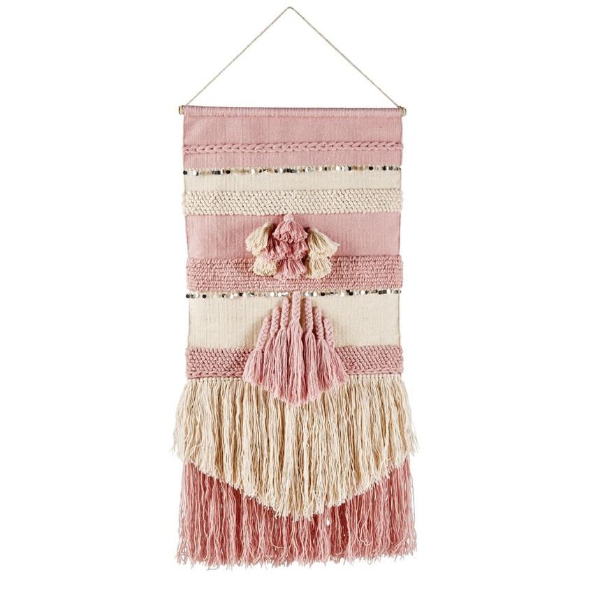 tissage-mural-en-laine-et-sequins-argent