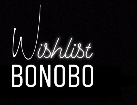 Wishlist Bonobo : Plan in - 20% supplémentaires jusqu'à demain