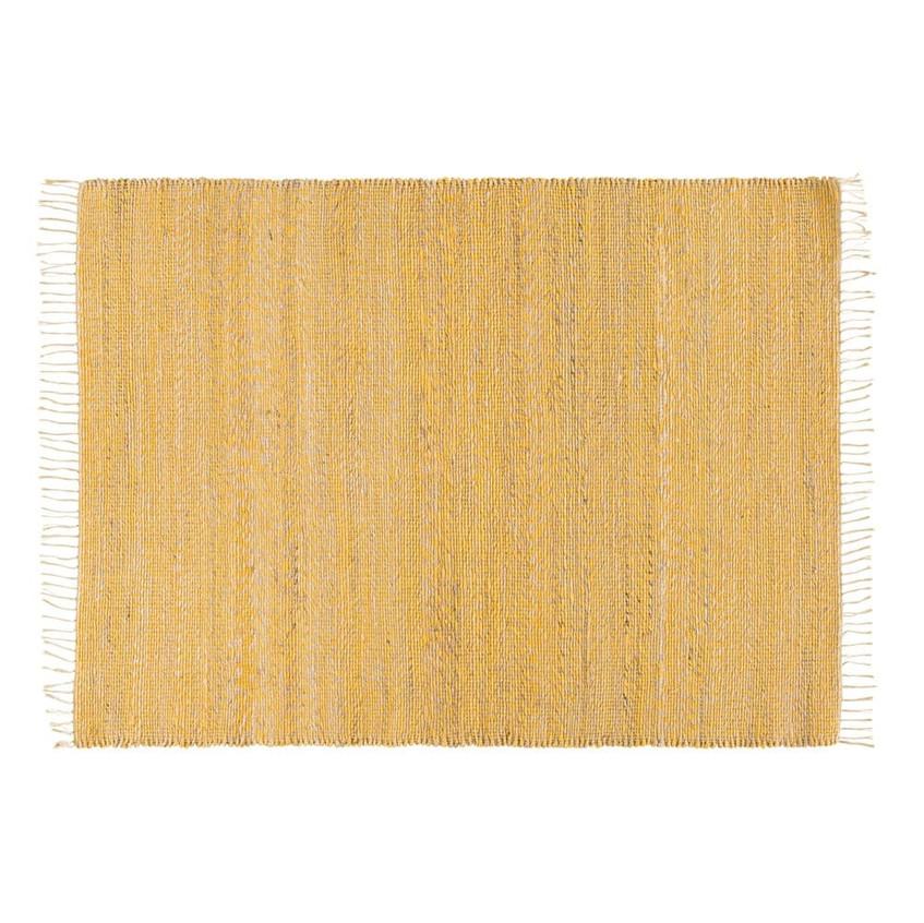 tapis-tresse-en-jute-et-coton-jaune-140x