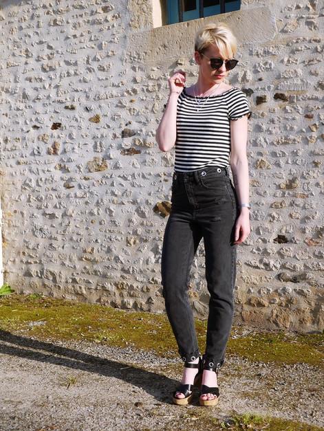 Look #16 - Le Mom jeans qui me va enfin !!!