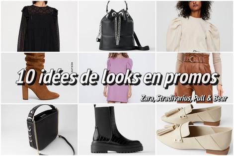 10 looks en promos (Zara, Stradivarius et Pull & Bear)