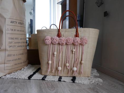 DIY : Customisation de mon panier mode pour l'anniversaire de Calvados pour elles
