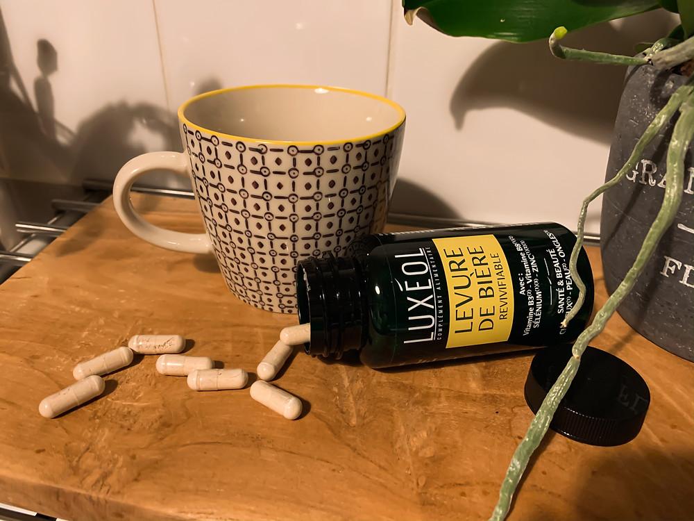 test gélules levure de bière Luxéol - Le Blog des Filles In