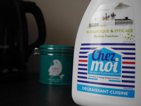 C'est propre et ça sent bon avec CHEZ MOI