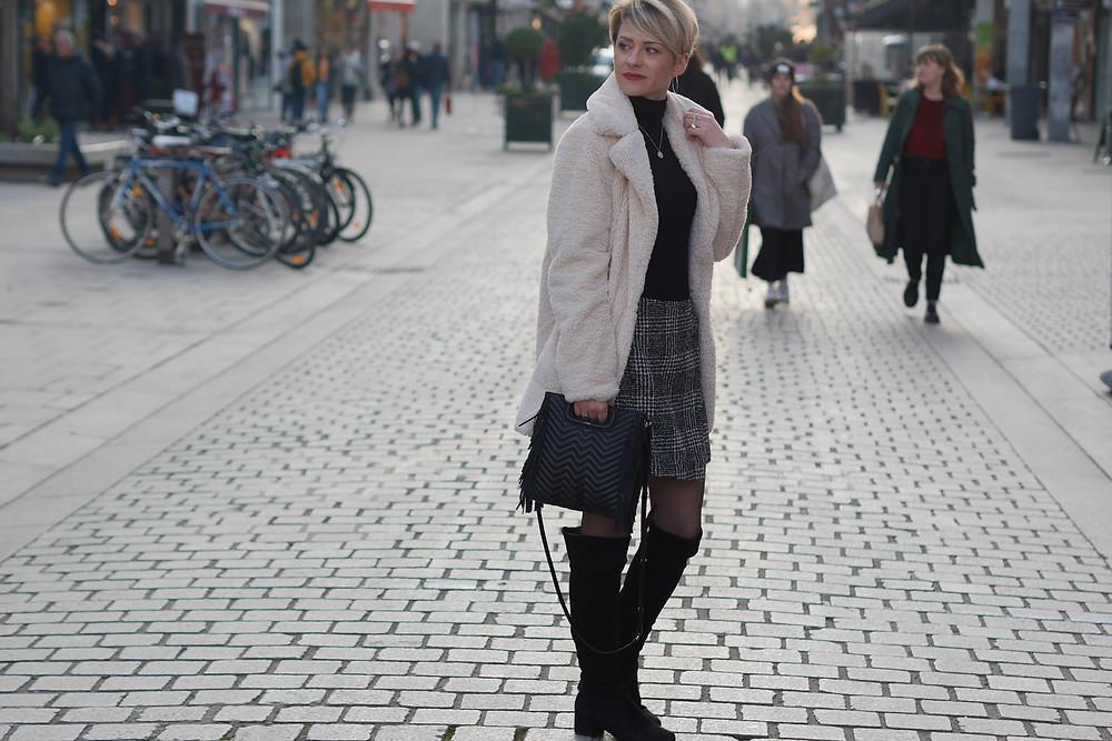 look hiver teddy coat