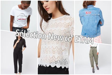 Sélection new co' Etam