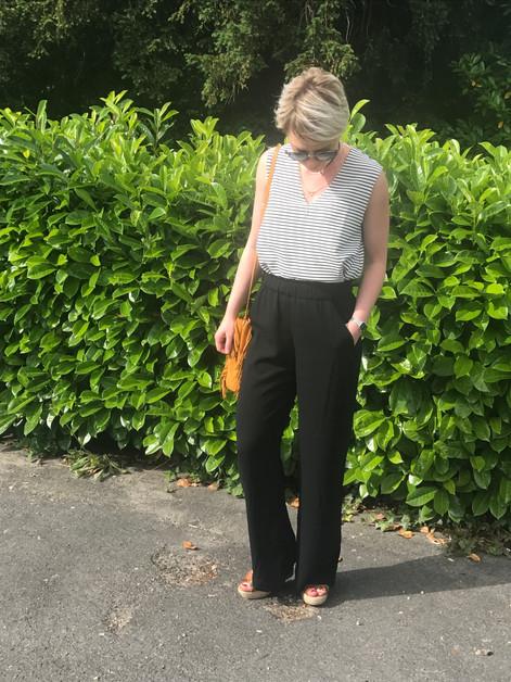 Look #4 - Le retour du pantalon large -