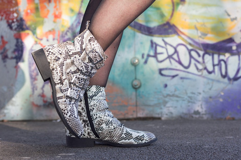 Look #24 - La tendance animale version boots python