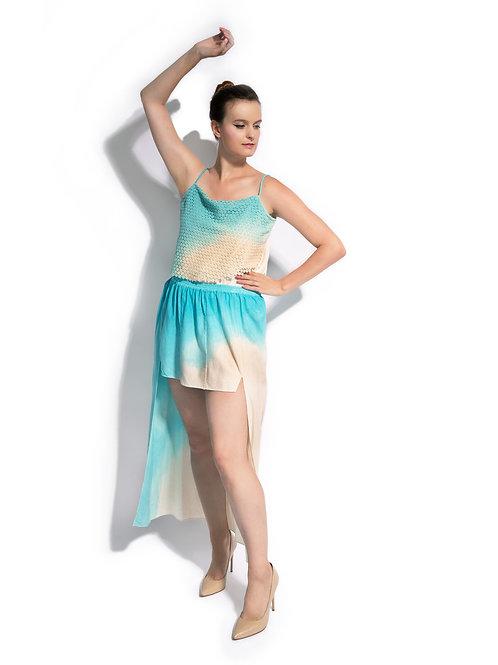 Aqua Ombre Amphitrite Skirt