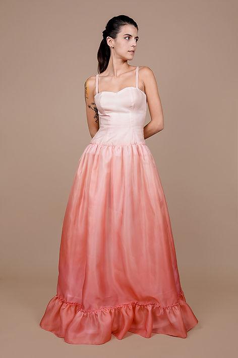 Tea Rose Ombre Silk Gazar Gown-1.jpg
