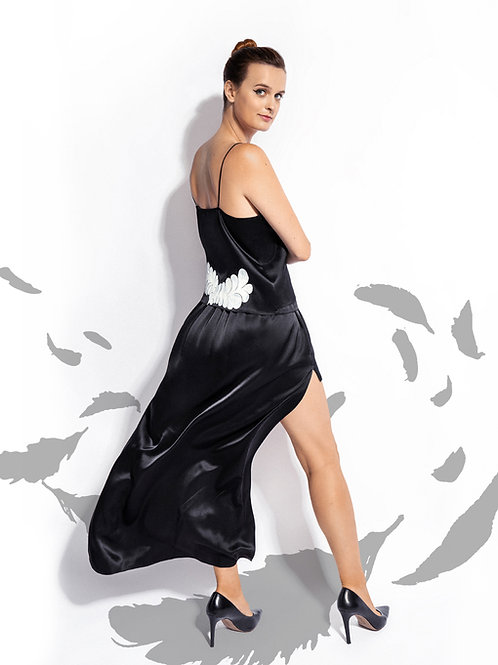 Black Silk Epimetheus Skirt
