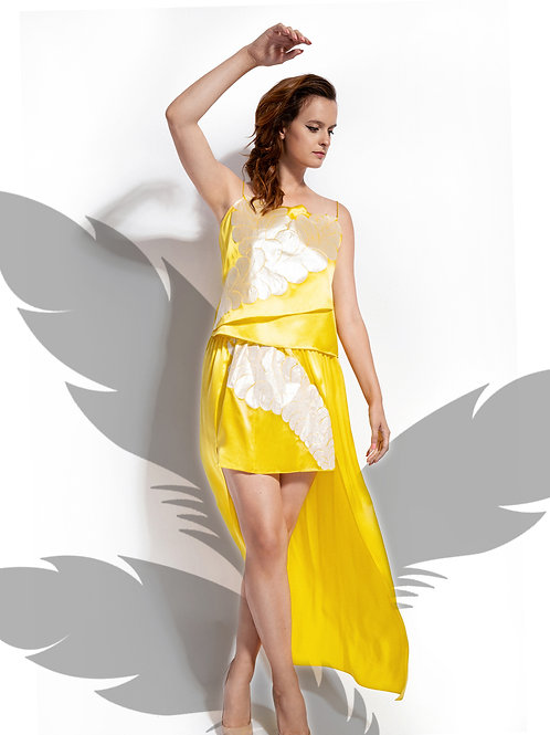 Sunshine Silk Iapetus Skirt
