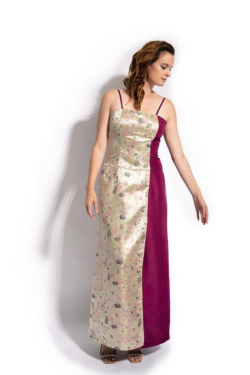 Floral Summer Evening Dress