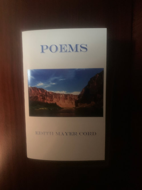 Poems by Edith Mayer Cord