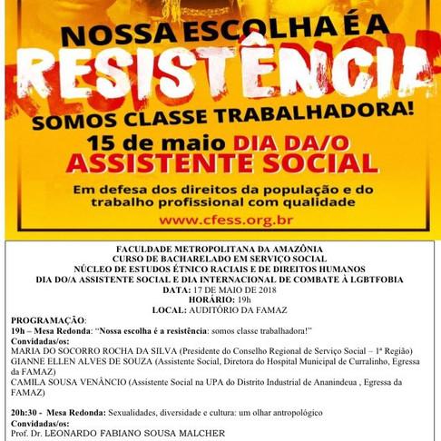 FACULDADE METROPOLITANA DA AMAZÔNIA - DIA DO/DA ASSISTENTE SOCIAL