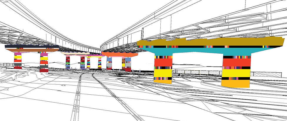 17East Perspective 2 Pillars design-Reco