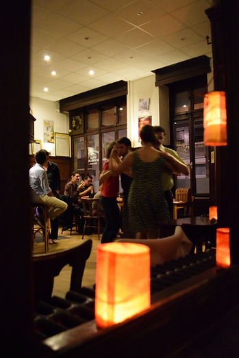 """Au bar """"A la ville d'Andlau"""""""