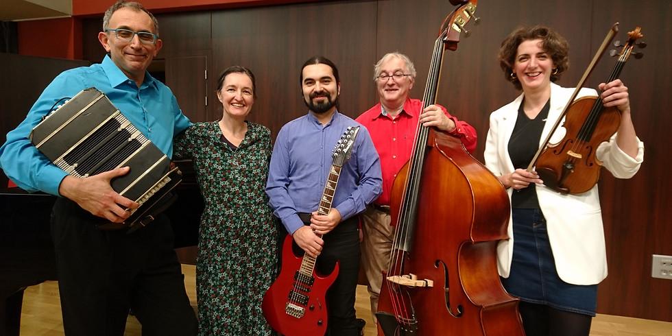 Concert - Quinteto La cunita - au printemps des bretelles.