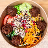 Foodwerk Oberursel Bowl Falafel vegetarisch