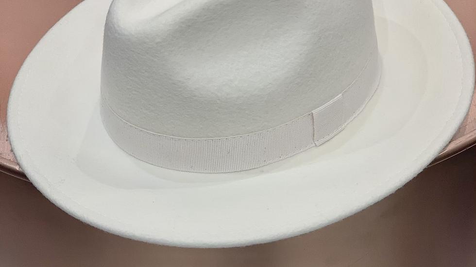 Fedora blanc