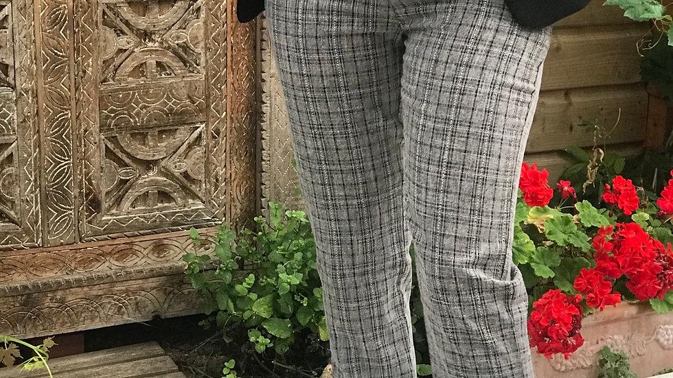 Pantalon quadrillé