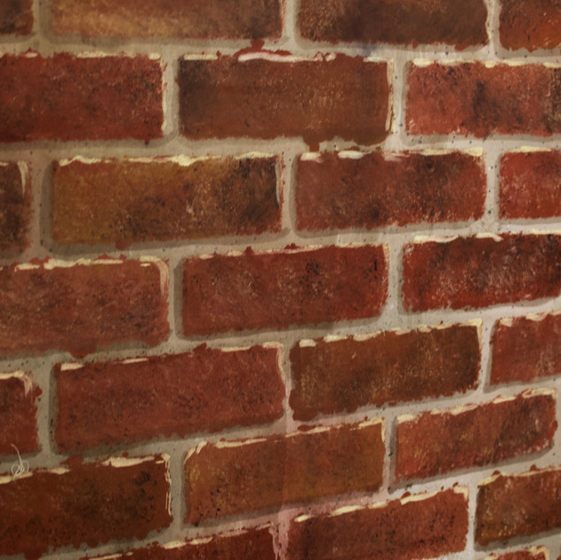 Brick Faux Finish (Macro)