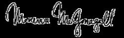 Minerva McGonagall Signature