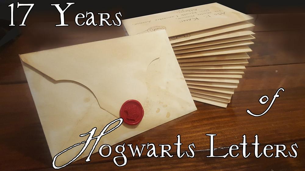 Make Your Own Hogwarts Letter