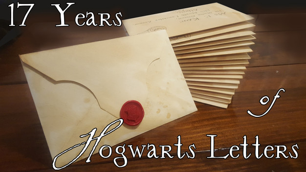 Custom Hogwarts Acceptance Letter.17 Years Of Personalized Hogwarts Letters