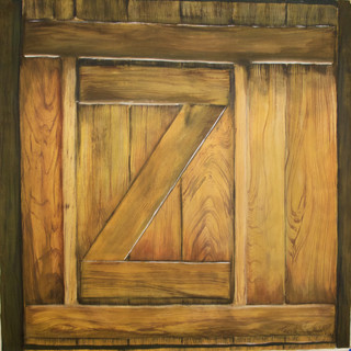 Wood Graining (Wide)