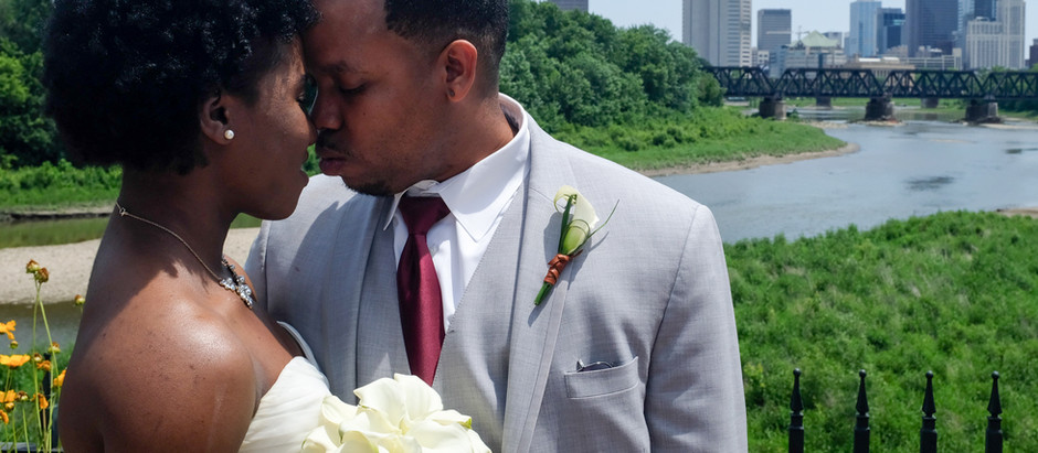 JAMAICAN-AMERICAN SUMMER WEDDING IN COLUMBUS