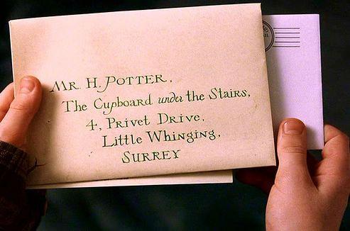 Harry Potter Hogwarts Letter (Movie Version)