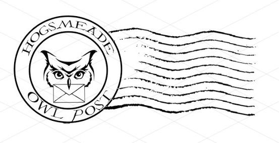 Hogsmeade Owl Post Postmark