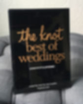 The Knot Best of Weddings Plaque